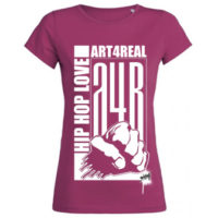 "A4R ""HipHop Love"" Lady Shirt in pink"